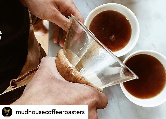 Happy Sunday, coffee crew! Huge thanks to everyone who took the time to join in our conversation on our stories over the past couple days. It was so cool to get your input and learn a little bit about your goals for our community. Chemex pic from @mudhousecoffeeroasters