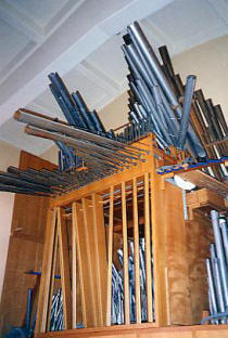 Original Organ Pipes