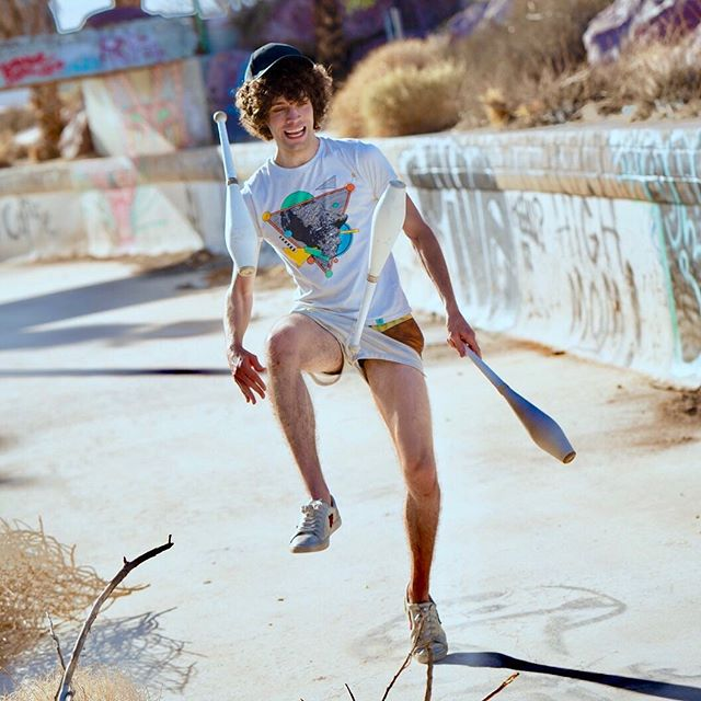 Here are some photos of me skateboarding.