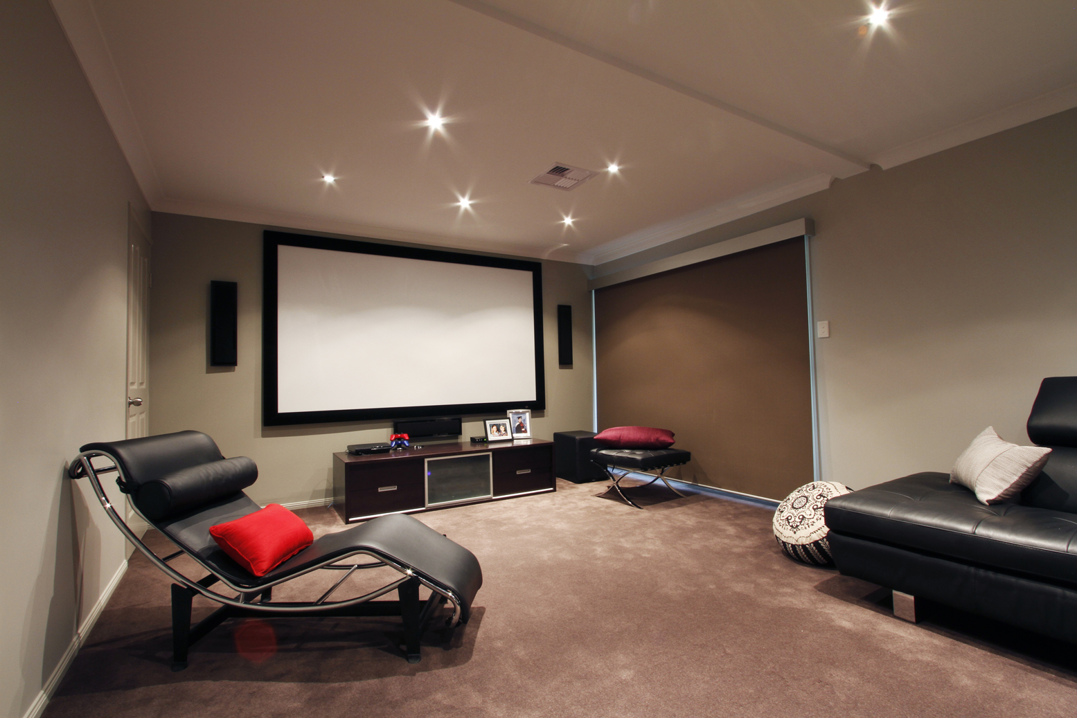 Home theatre room design
