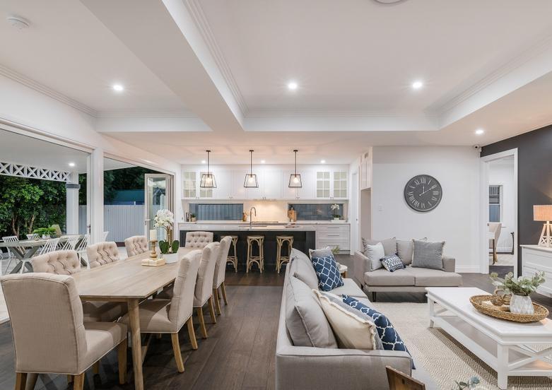 Interior design living space