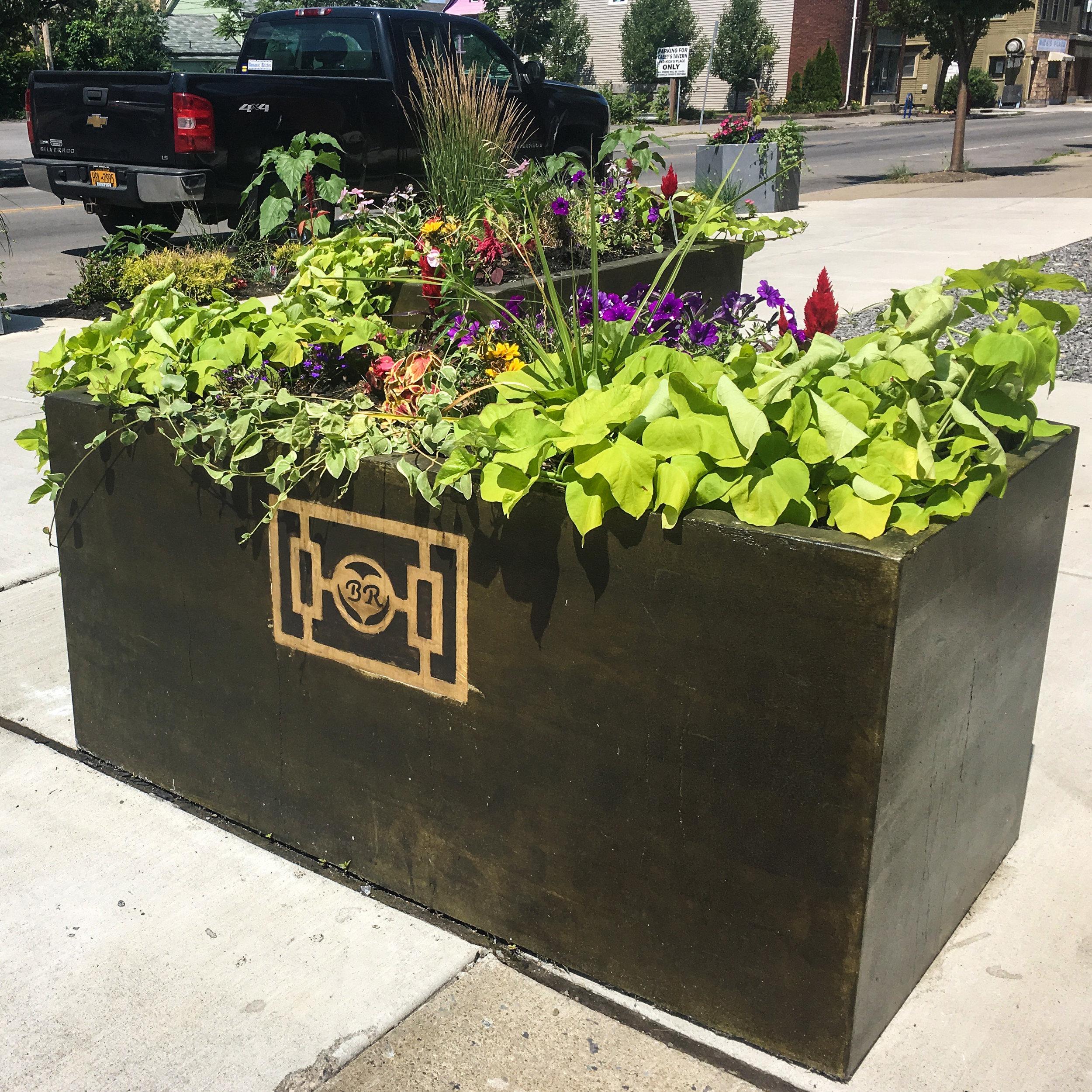 Amherst St. Planters - Buffalo NY