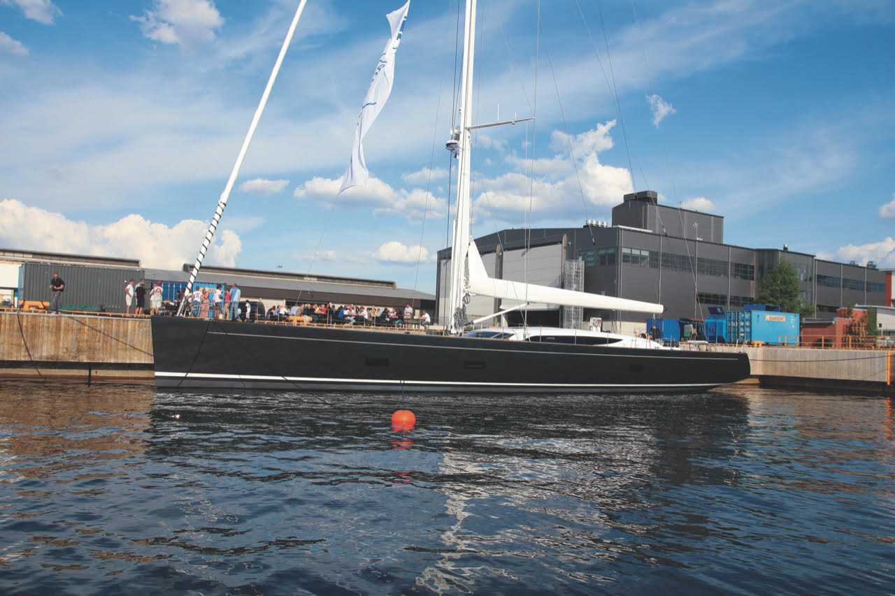 """INUKSHUK New Construction 32.60 M / 107'00"""" Sailing Yacht from Baltic Yachts, German Frers design. 2014 Overall Winner, Sailing Yachts- The World Superyacht Awards."""