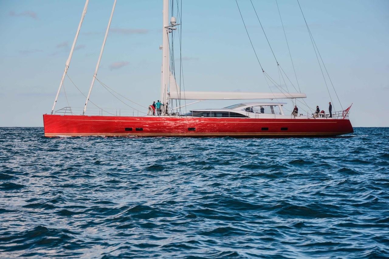 "DORYAN 35.5M / 117'00"" New Construction Custom Sailling Yacht from Baltic Yachts."