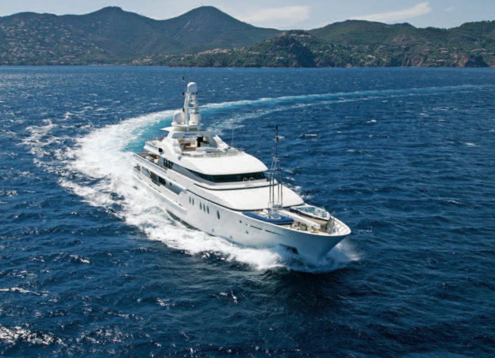 "DEJA TOO Represented seller. 51.99 M / 170'07"" motor yacht from Amels Shipyard."