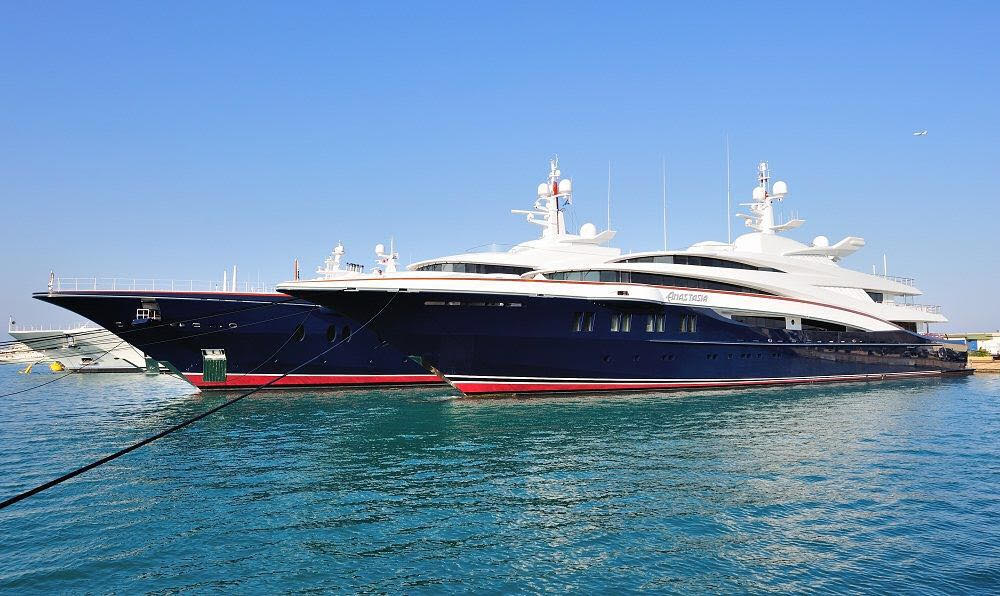 """ANASTASIA Collaborative sale representing seller on this 76 M / 249'04"""" motor yacht from Oceanco."""