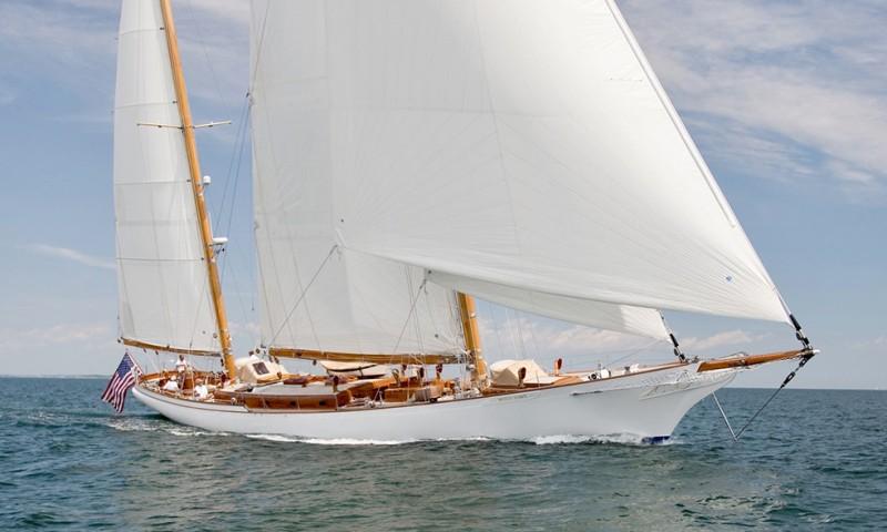 """WHITEHAWK Represented Seller. 32.00M (105'00"""") built by O'Lie-Neilsen."""