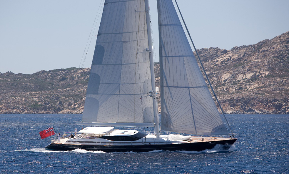 SOVEREIGN Represented Buyer. 36 m (119 ft) by Alloy Yachts.
