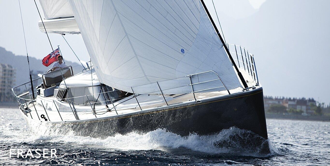 """ZWEISAMKEIT 24.69M / 81'00"""" by Alia Yachts. Represented seller."""