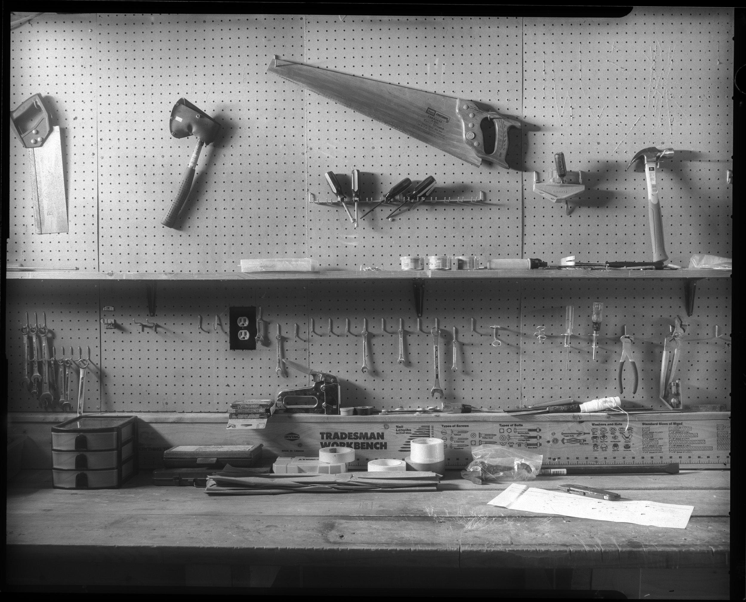 Papa's tool bench, Ithaca