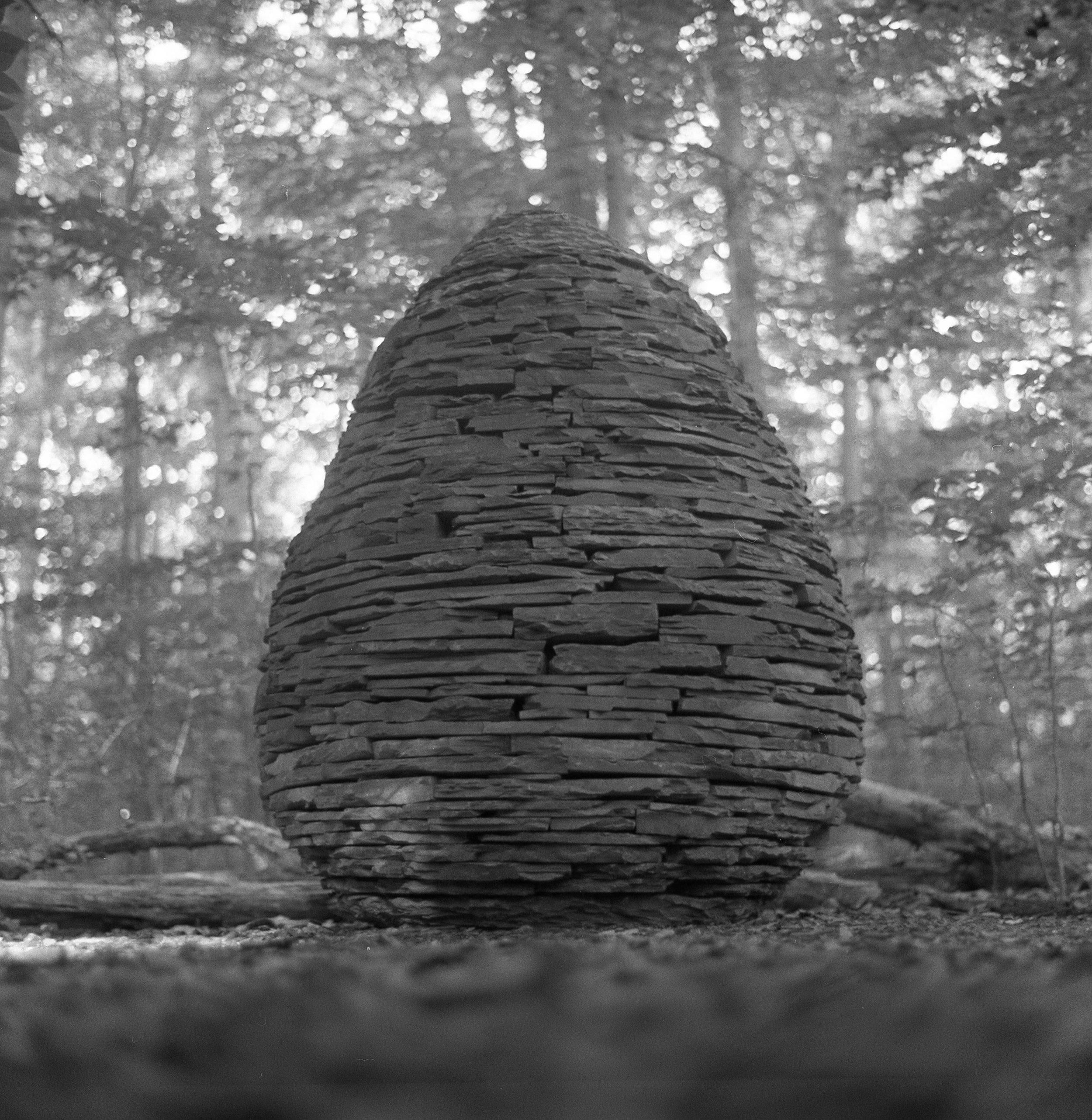 Sapsucker cairn, Ithaca
