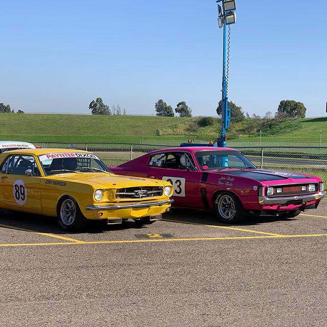 More of this coming up at SMSP on the Queens Birthday long weekend, June 8 & 9 🏎🏎🏎 #musclecars #cars #aussiemuscle #holden #fordmustang #historicracing #motorsport #motorsports #automotive #carracing #sydneymotorsportpark