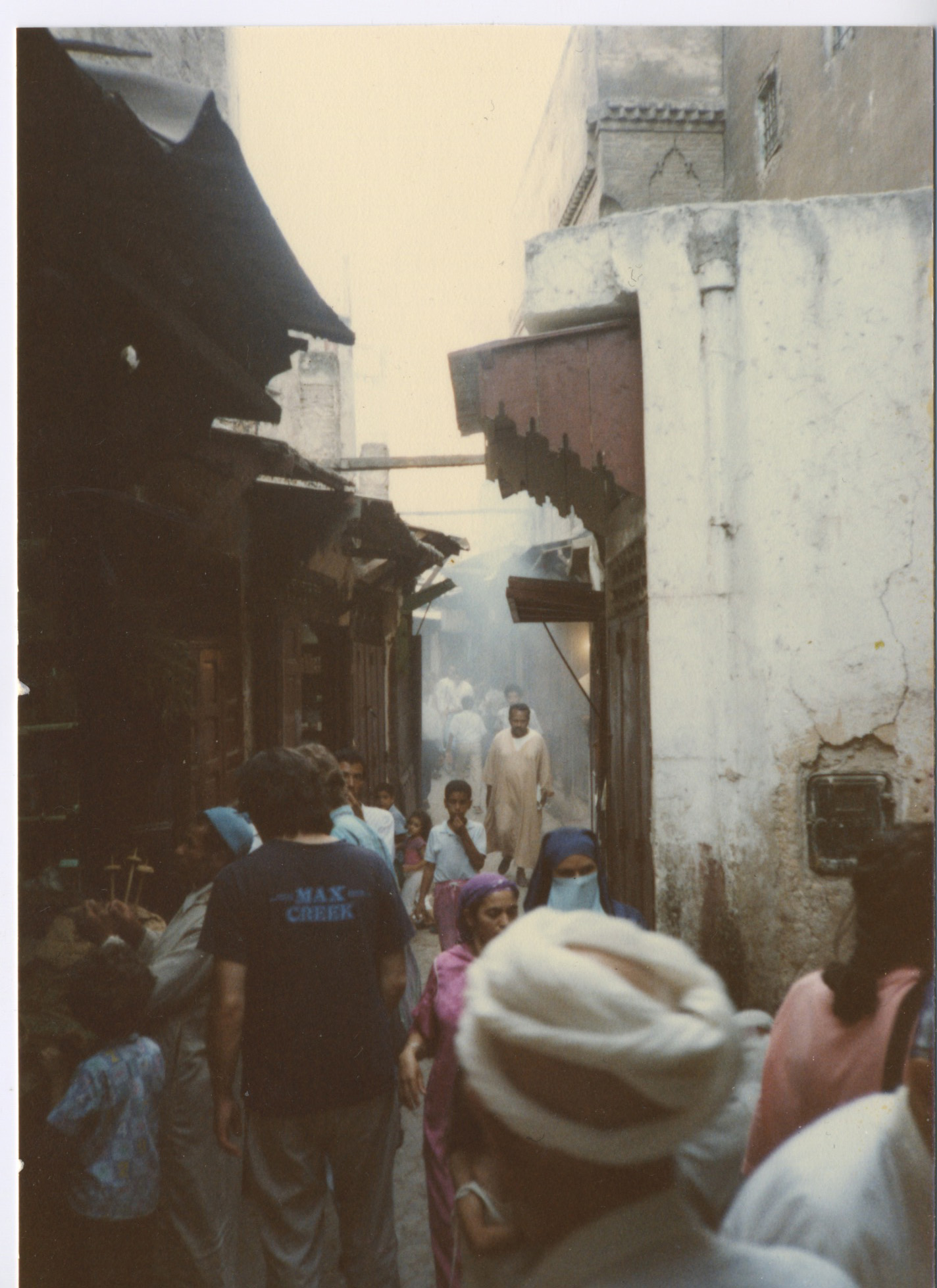A street in Old Fez