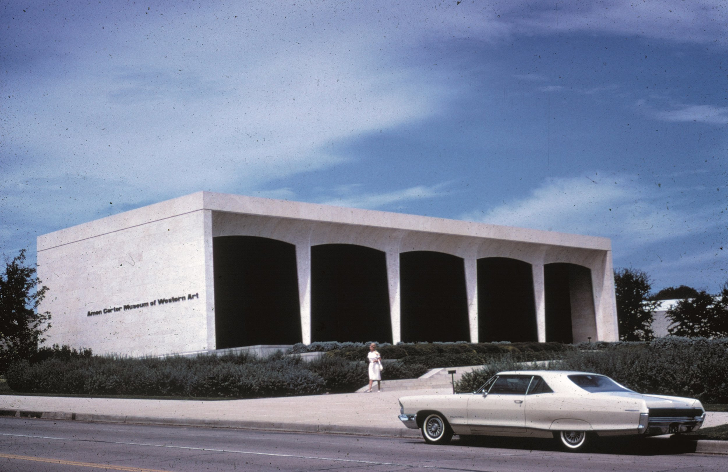 The Amon Carter Museum of American Art opened in 1961 in Fort Worth, not Dallas. (Photo courtesy of UTA Libraries Special Collection.)