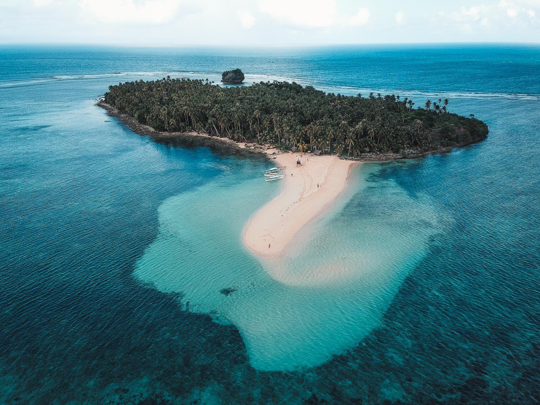 Kawhagan Island from above