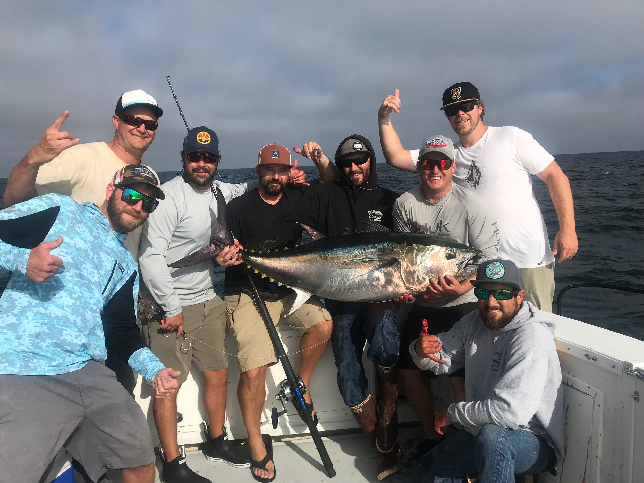 - August-31-2019Tough fishing on the Yellowfin Tuna, so we changed area codes and made it happen!