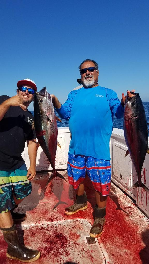 - September-6-2019LIMITS OF YELLOWFIN TUNA FOR HECTOR AND FRIENDS!