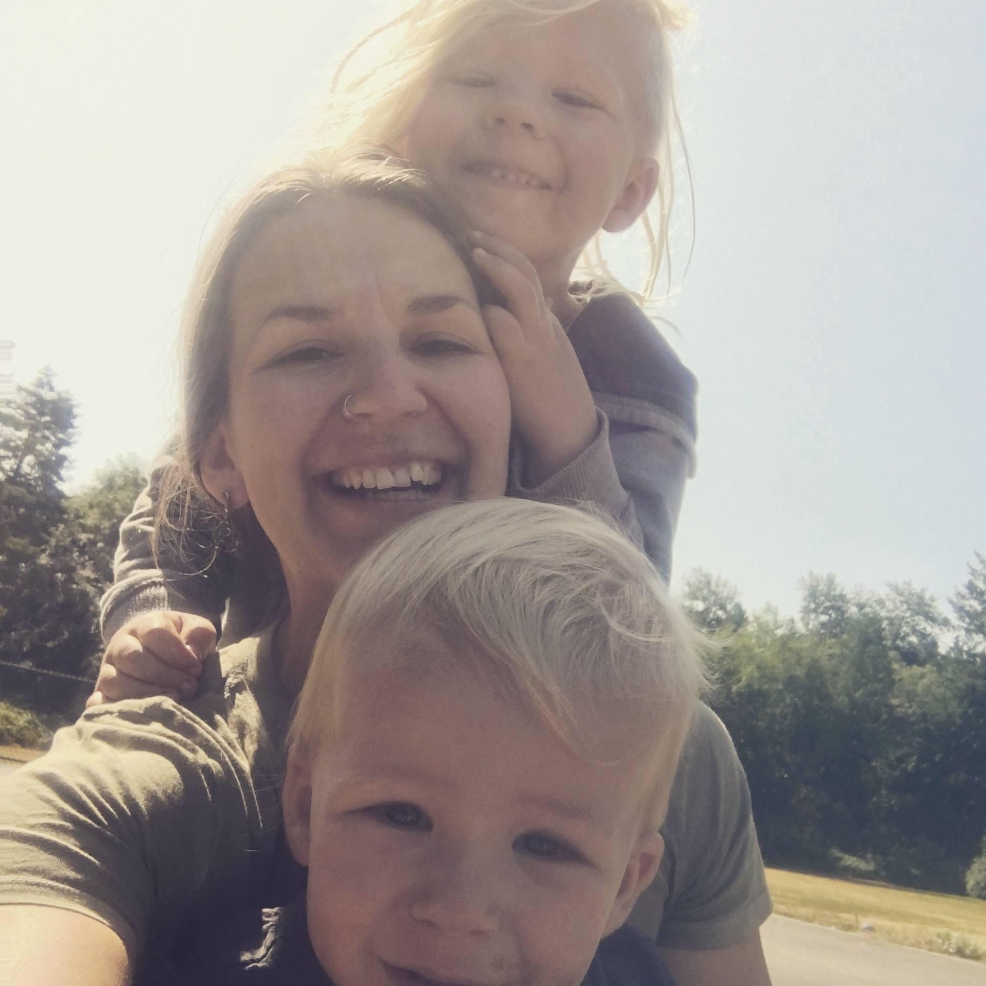 Sasha and her sons