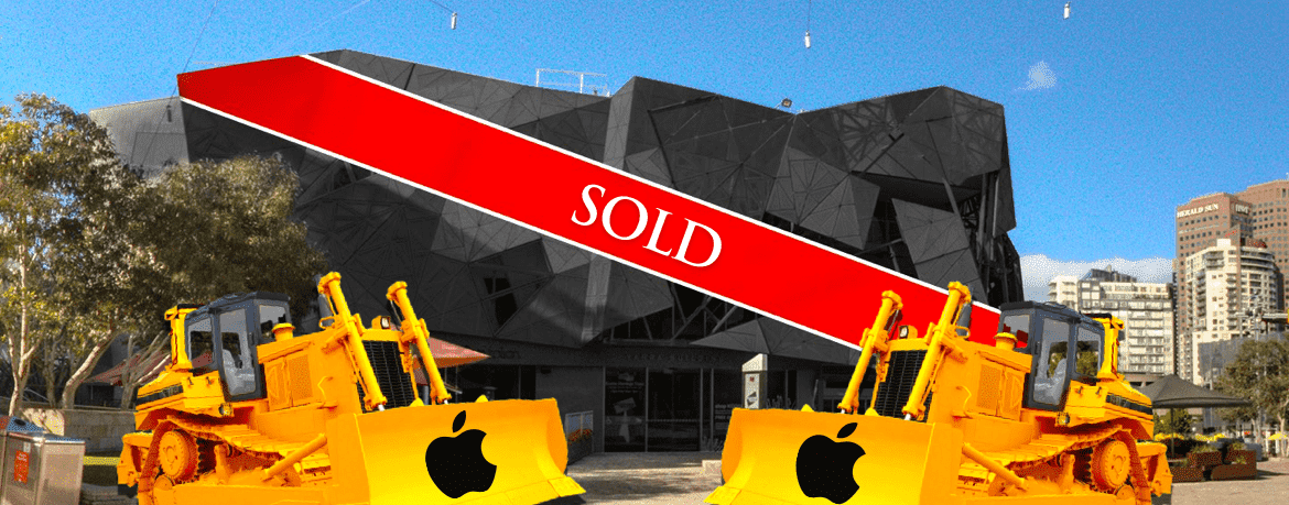 Stop Apple's Demolition of Fed Square!