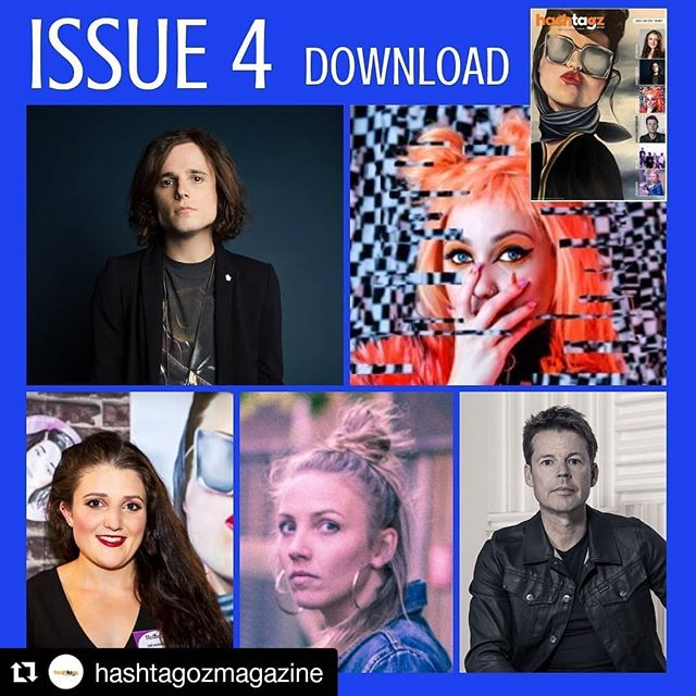 Thanks so much to @hashtagozmagazine for the feature! Get your copy now to read my full interview 🖤🖤🖤 #Repost @hashtagozmagazine ・・・ Check out 5 amazing Australian talents in our May issue @hamishanderson1 , @martika_music ,@jade.marshall.art , @sashamarchmusic and  @carlyle_christopherson .Head to www.hashtagoz.com.au and download now. Support Aussie talent. : : : : #australianmusic #australiansingerssongwriters #australiansingers #australianbands #australianbluesrock #australianrock #australianindie #australianinterview #australianrelease #musicrelease #hashtagozmagazine #musicmagazine