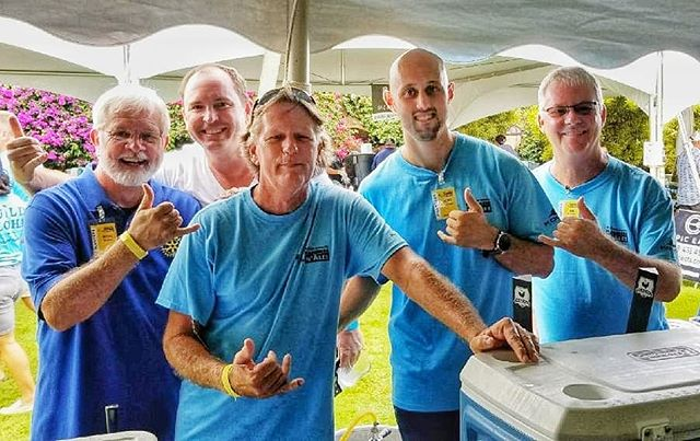 Habitat for Humanity's Oktoberfest fundraiser: Hammers 'n Ales.  Affordable housing on Kauai is made possible largely through the hard and tireless work of this group. Happy to lend a hand and pour some beer in support of these warriors!