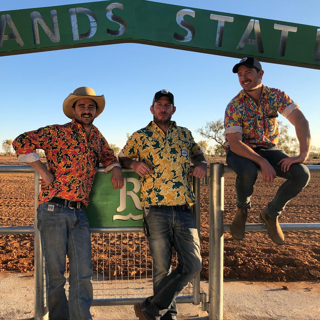 Ed Ross, Nick Sutherland and Dan Allen