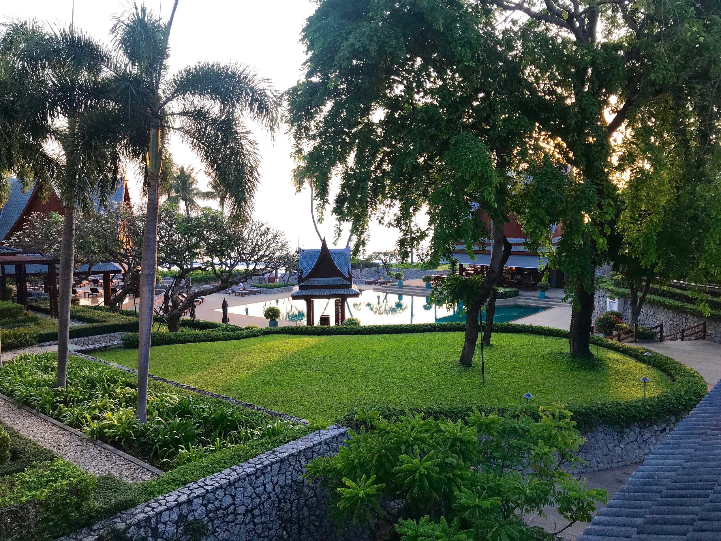Chiva Som, a luxury 5 Star health resort in Hua Hin, Thailand.