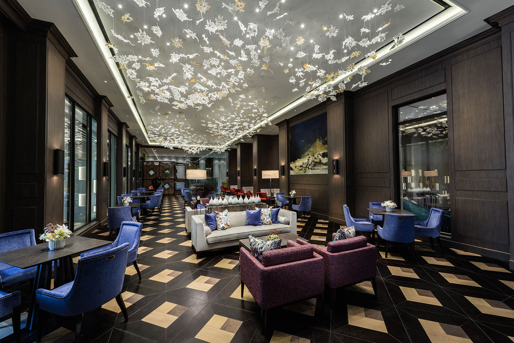 Lobby lounge @ Clubhouse
