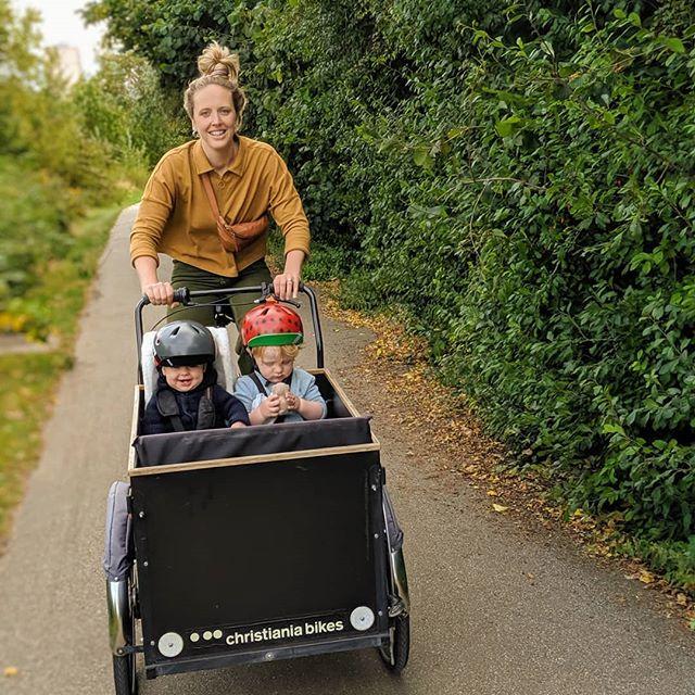 Hackney Marshes on the cargo bike • • • • #bike #cargobike #london #hackney #hackneymarshes #christianiabike #somewheremagazine #minimalzine #ifyouleave #phroom #myfeatureshoot #cereal #kinfolk