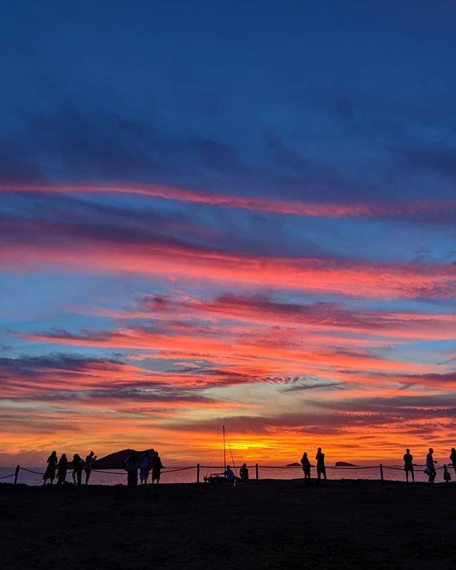 Calla Comte - Ibiza • • • • • #ibiza #spain #sunset #sunset🌅 #sky #summer #evening #color #colour #justgoshoot #somewheretravel #subjectivelyobjective #ourmomemtum #anotherescape #broadmag #gominimalmag #palepalmcollection #somewheremagazine #minimalzine #ifyouleave #phroom #myfeatureshoot #cerealmag #kinfolk