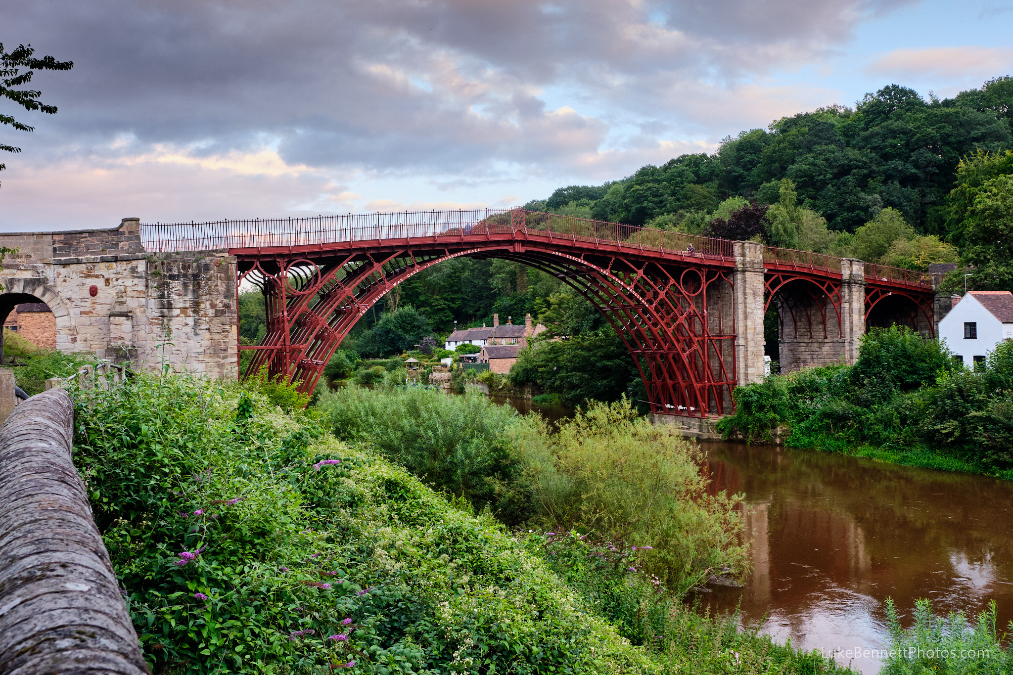 The Iron Bridge of Ironbridge