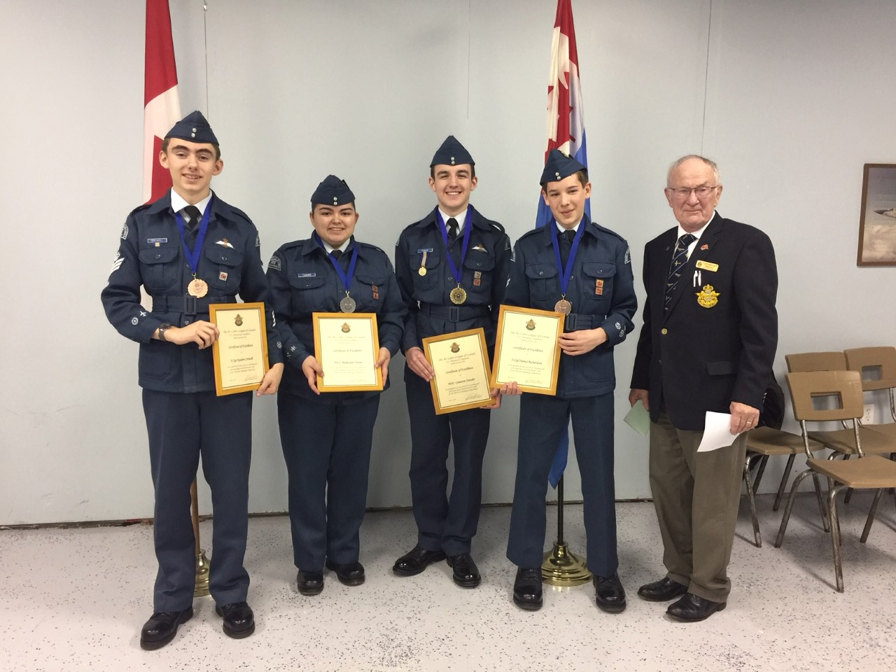 2019 Provincial Effective Speaking Competitors
