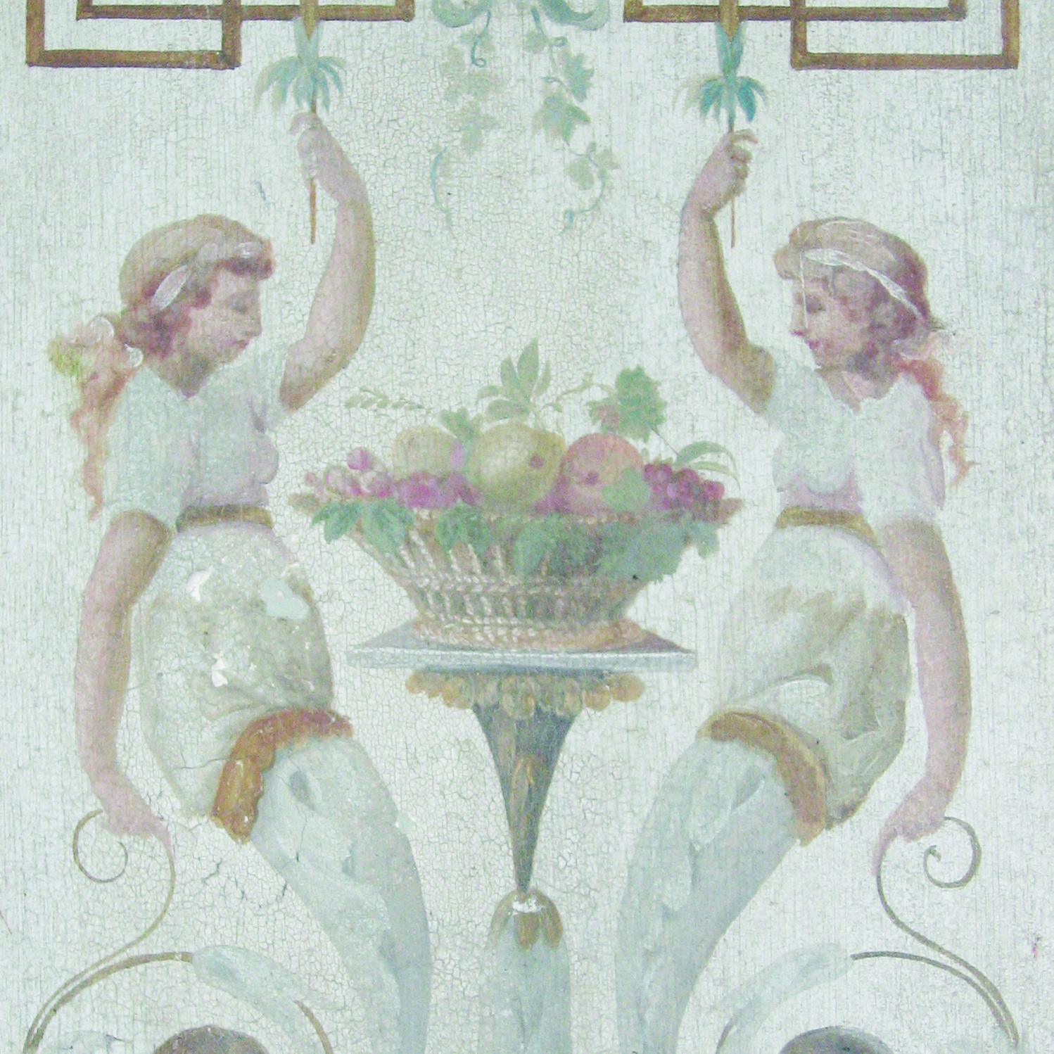 THE MAIDENS OF EGEDE  GOBELIN MOTIF
