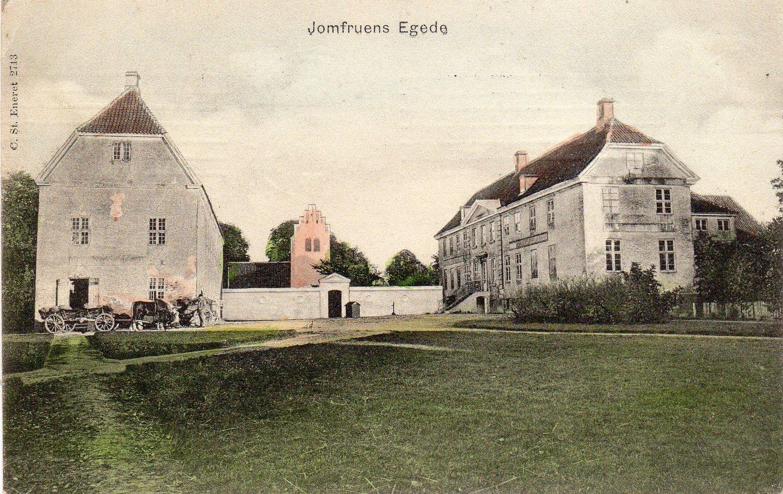 JOMFRUENS EGEDE ANNO 1905  Illustration: C. St. Eneret
