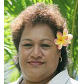 Samoa - Representative: Mrs Avalisa Viali-Fautua'alii, Chief Executive Officer, Ministry for Revenue