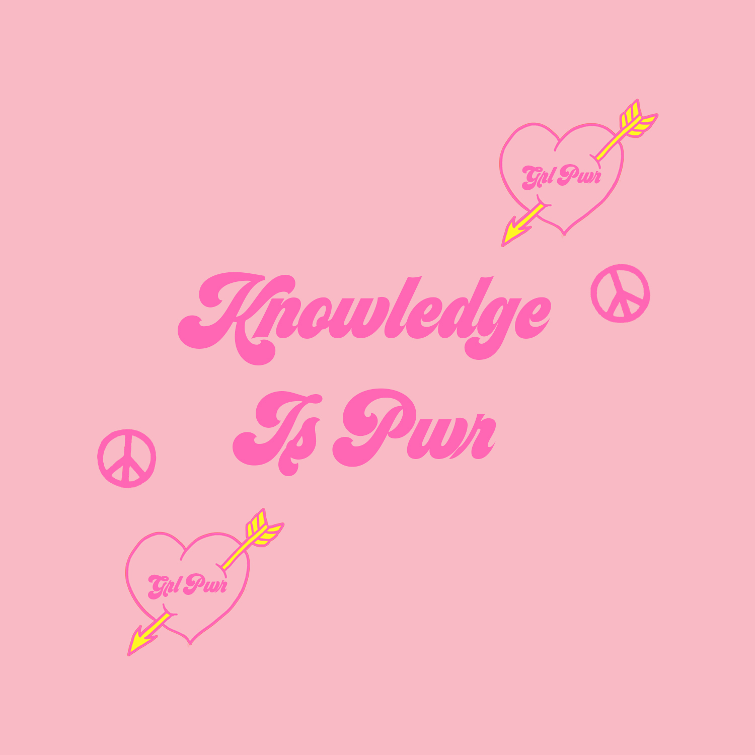 KNOWLEDGE IS PWR - Passing on our collective knowledge to the next generation of young girls via digital engagement and live events, giving a first hand insight on how to break into the creative industries