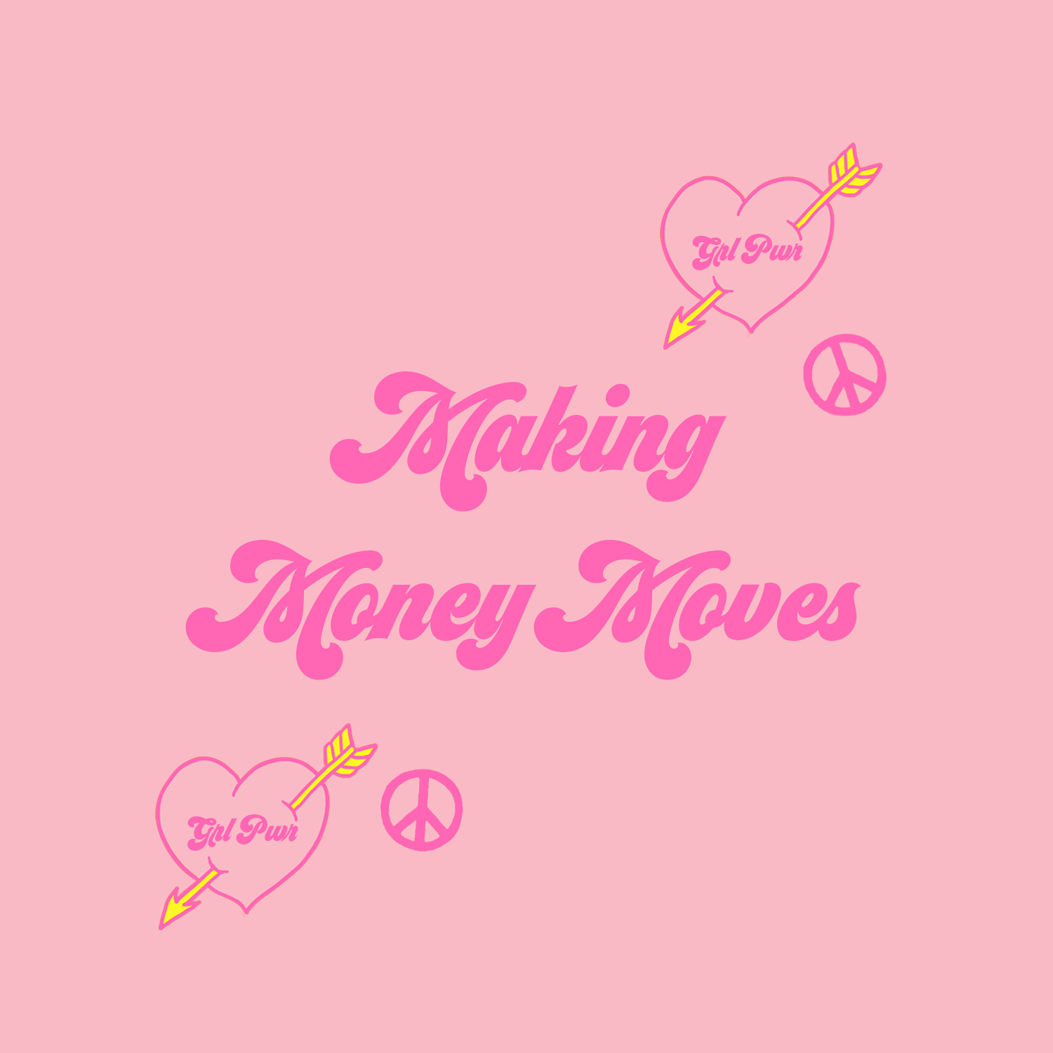MAKING MONEY MOVES - Creating work that is revenue generating for our gang members, that has an important message, that is meaningful and that makes a difference