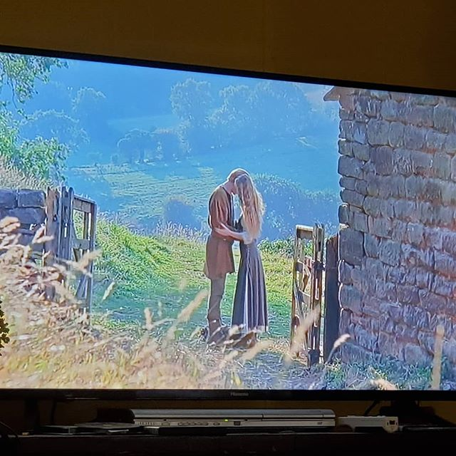 When it is too wet to go plant and you have spent hours and hours (and days and days) deciding on flower seeds for next year and you need a small break.... what do you do? Why The Princess Bride obviously!