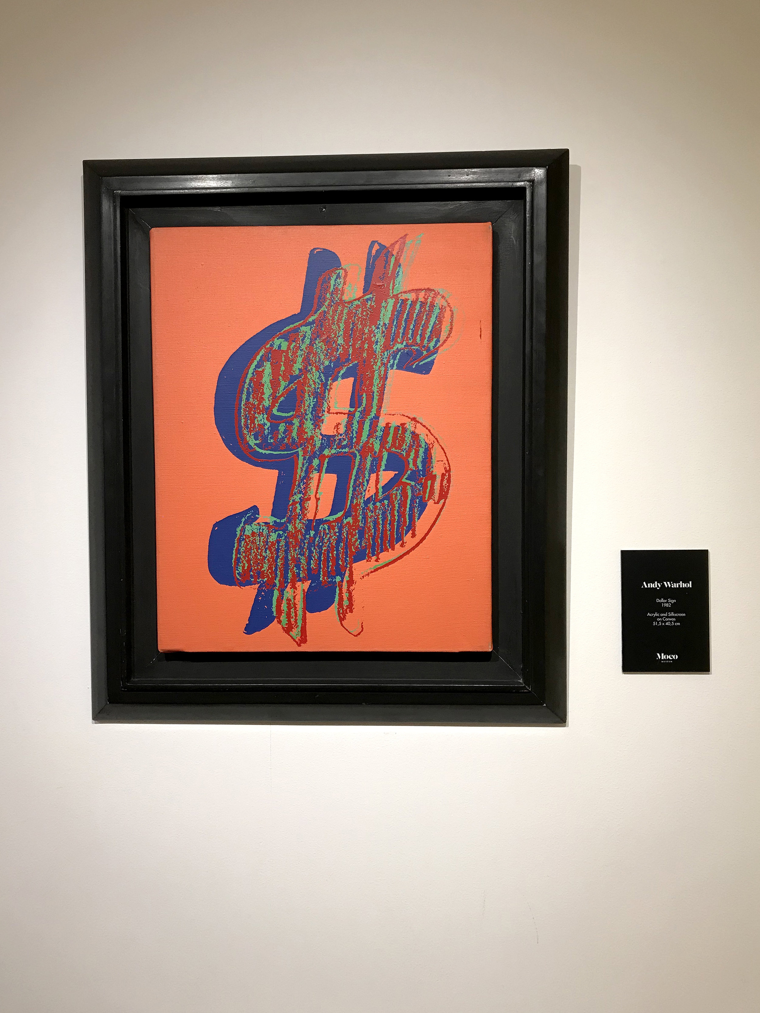 Andy Warhol Dollar Sign Blog 8bit