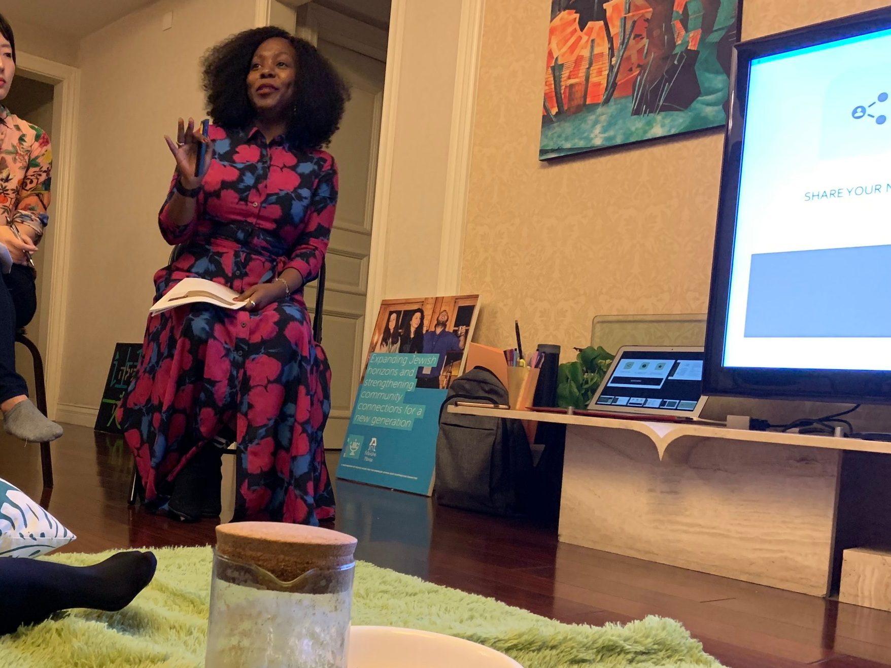 Workshop:Coping Strategies for Professional and Personal Anxiety - Held at Moishe House