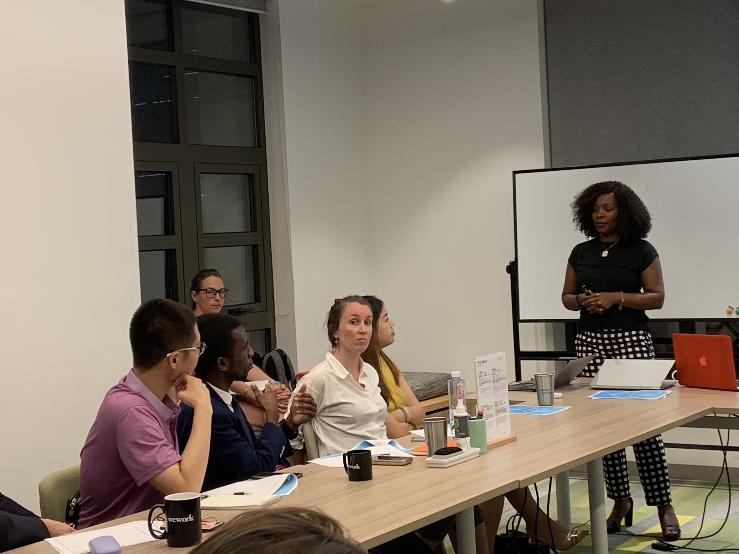 Professional workshop with Bare @ wework - Coping with Professional Anxiety
