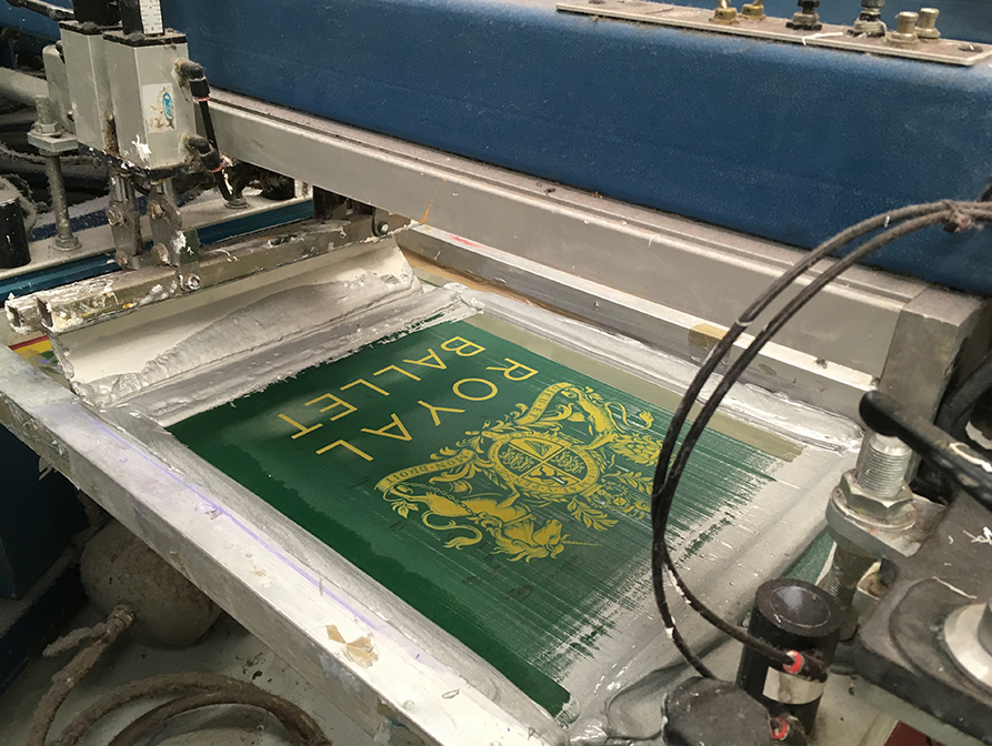 Screen Printing is ideal for larger quantities and special effect printing.