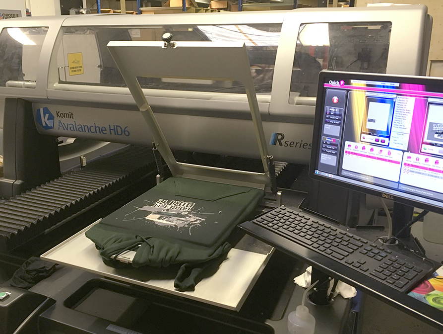 Direct-to-Garment (DTG) Printing