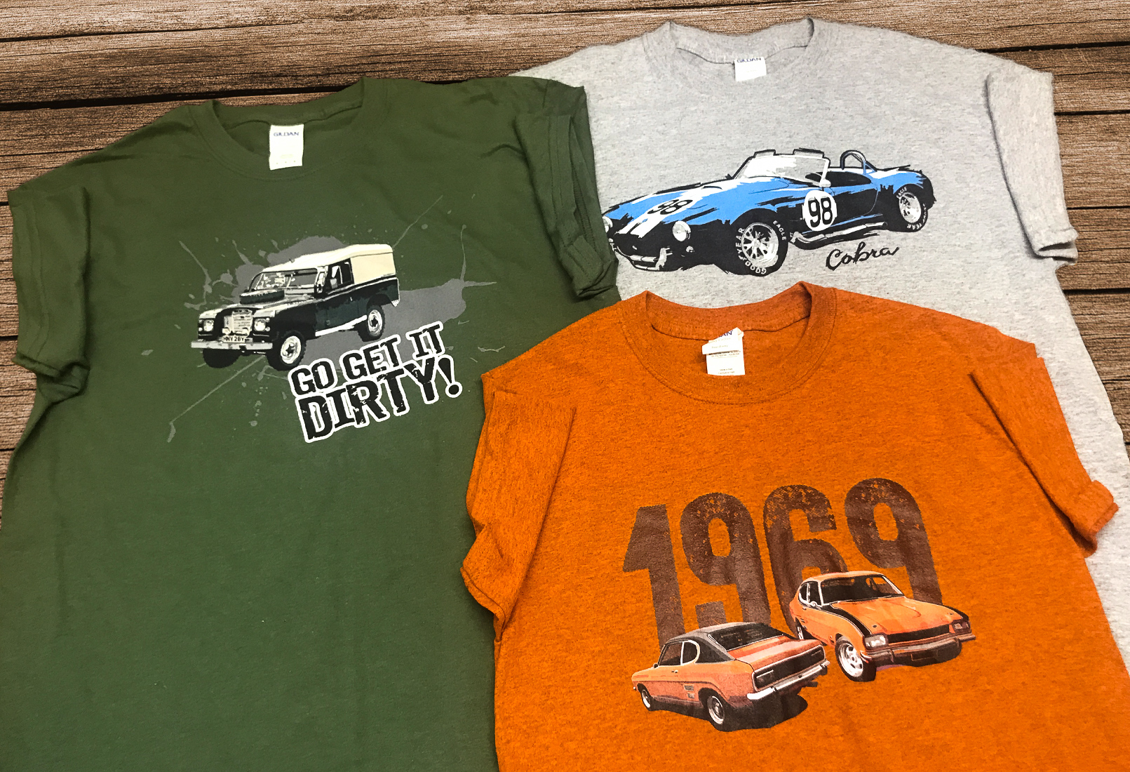 The Cotswold Motoring Museum tees