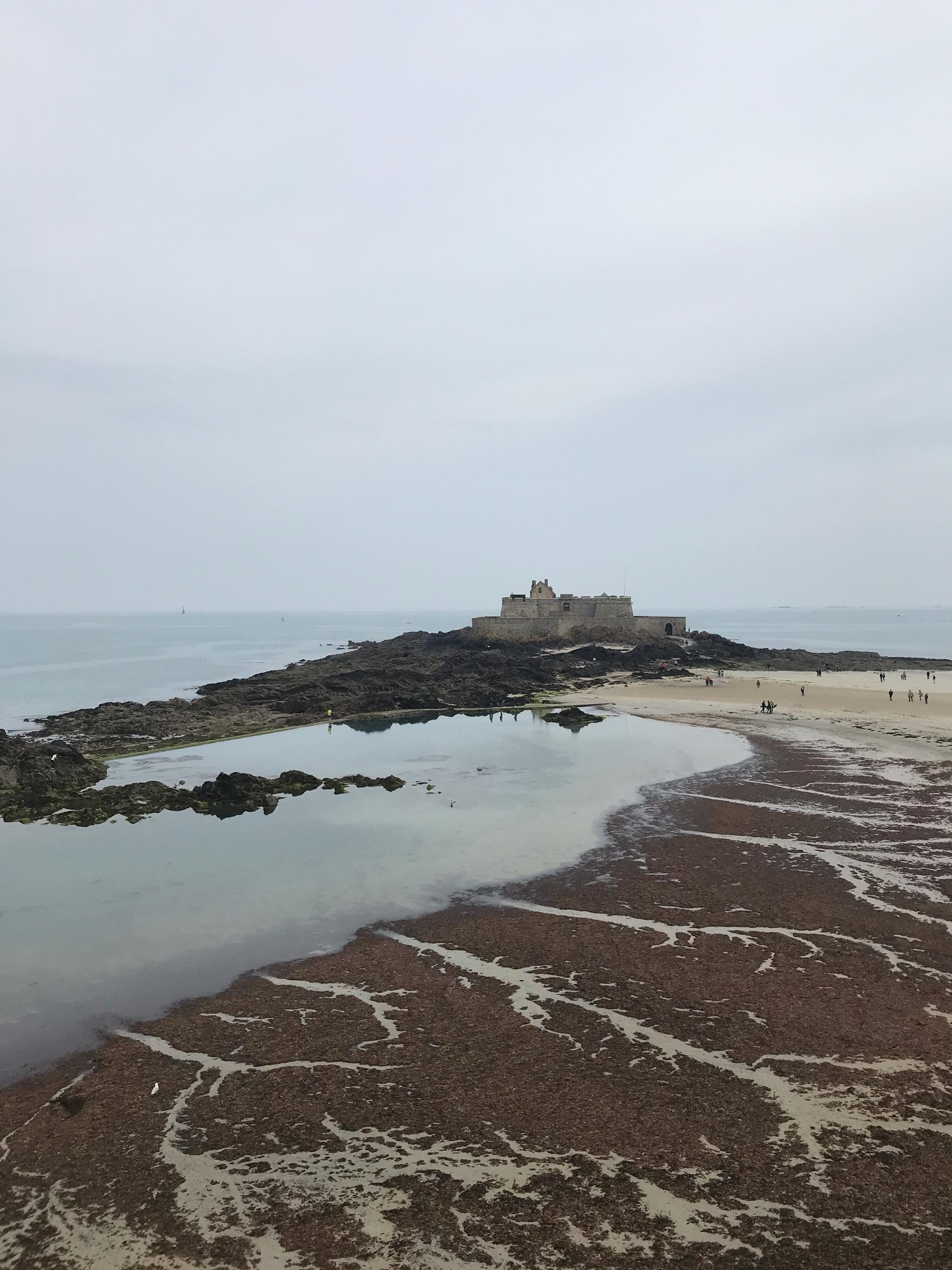 dernier regard (#Drama) sur le fort saint-père