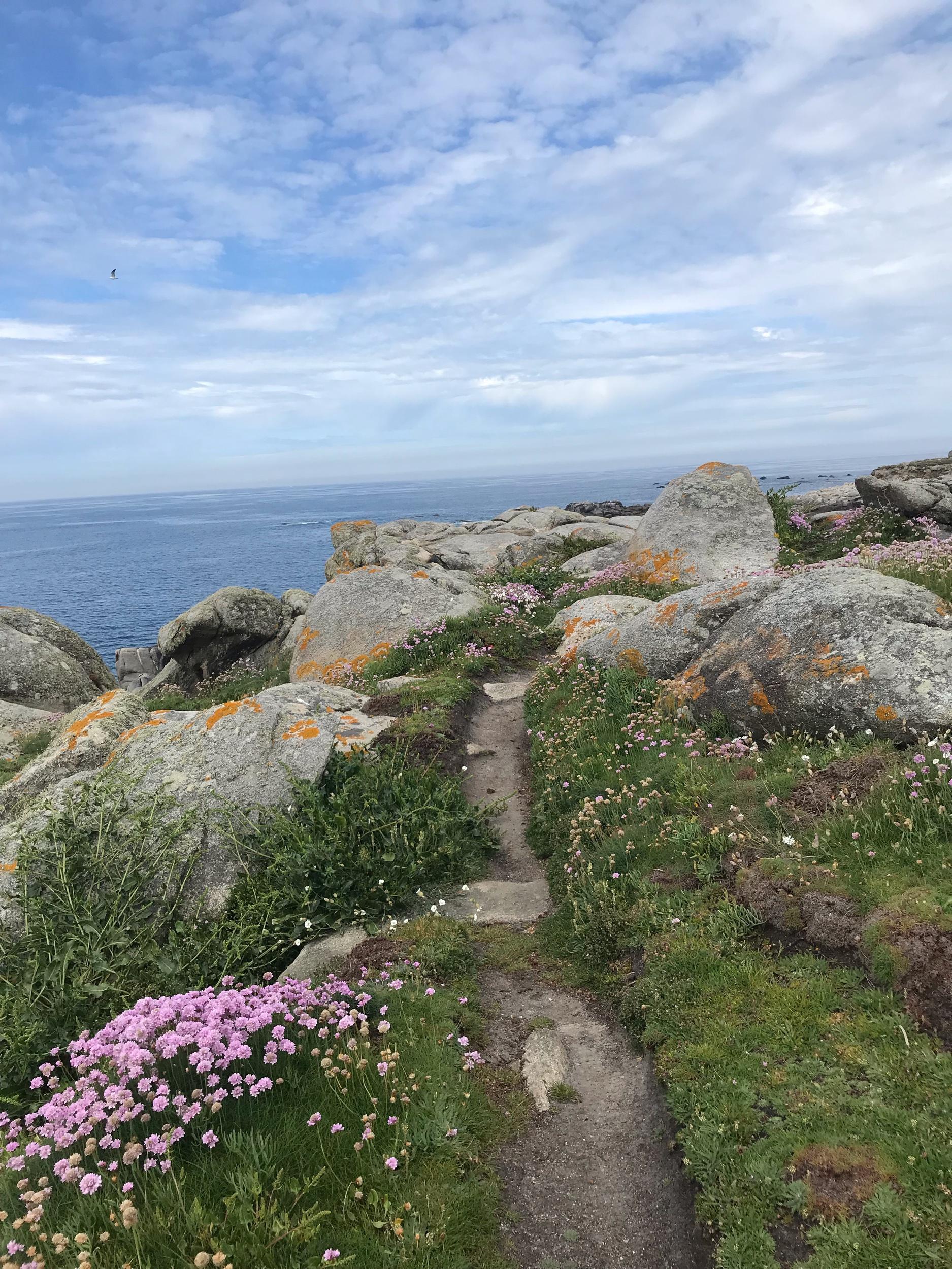 Jour 23 - ☀️Date : 23 mai☀️Distance : 3,5 km (sur le GR)☀️Départ - Arrivée : Île de Batz - Roscoff☀️Coucher de soleil : niveau 10