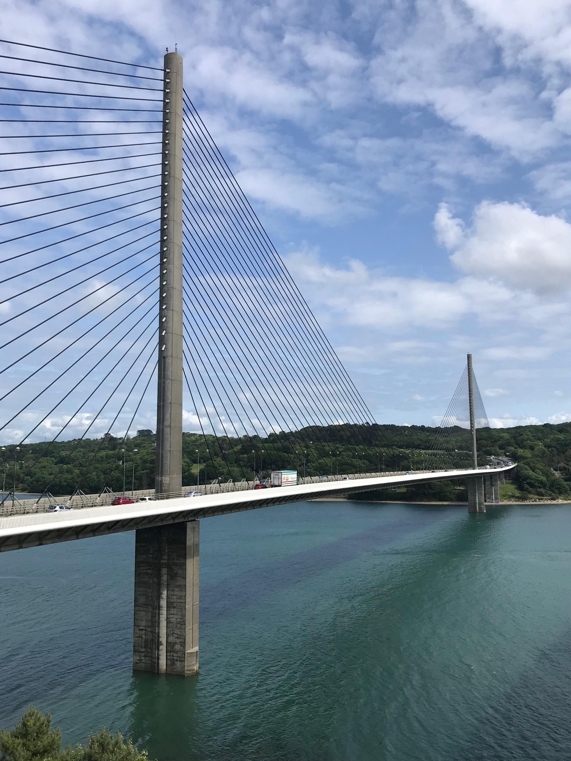 Jour 34 - 🎶Date : 3 juin🎶Distance : 8 km ! (sur le GR)🎶Départ - Arrivée : Brest - Plougastel🎶Bande-son : Miossec (who else)