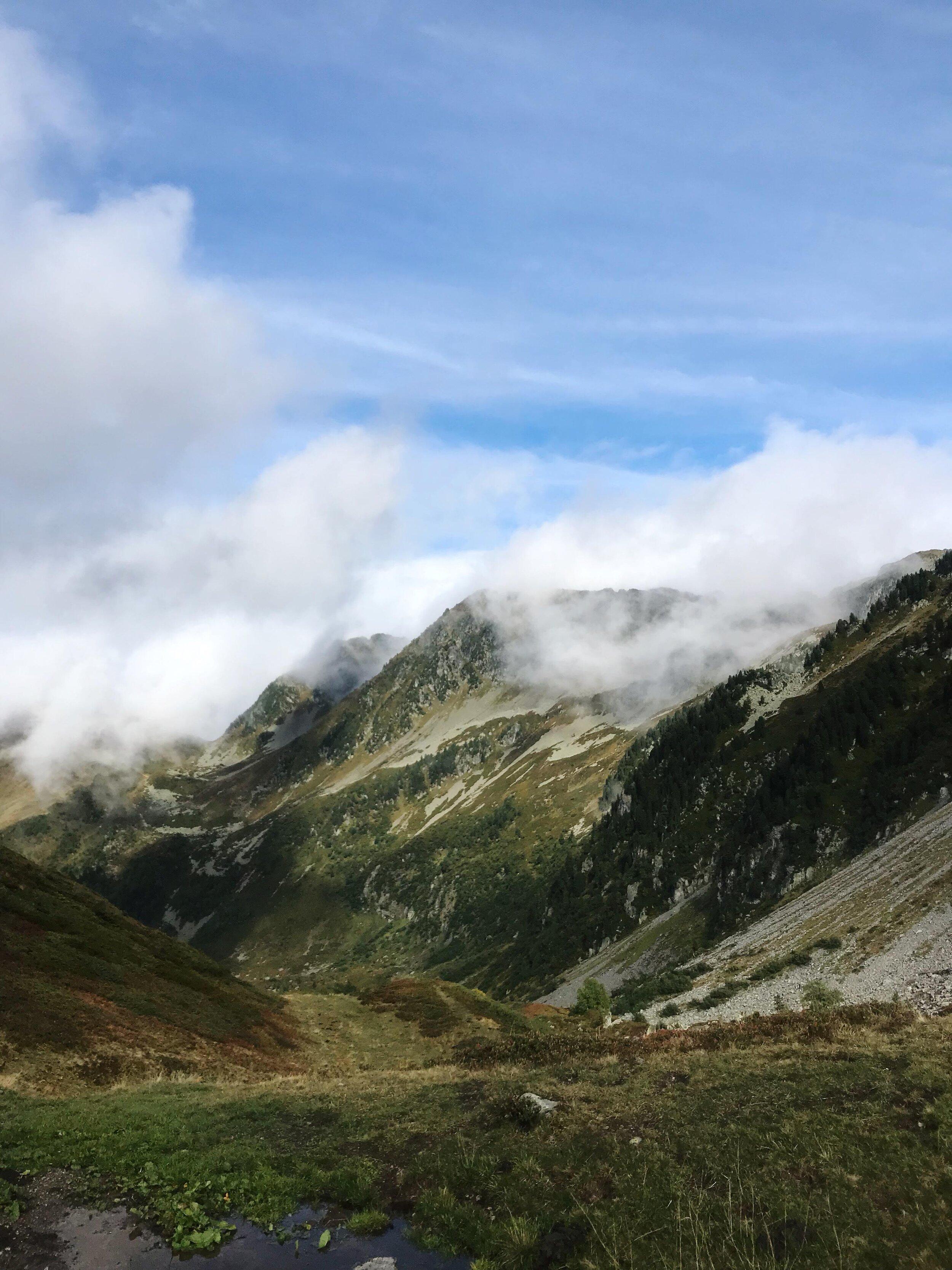 Jour 2 :Le Pontet - Refuge de la Perrière - - 15 km- 1800m D+- 800m D-
