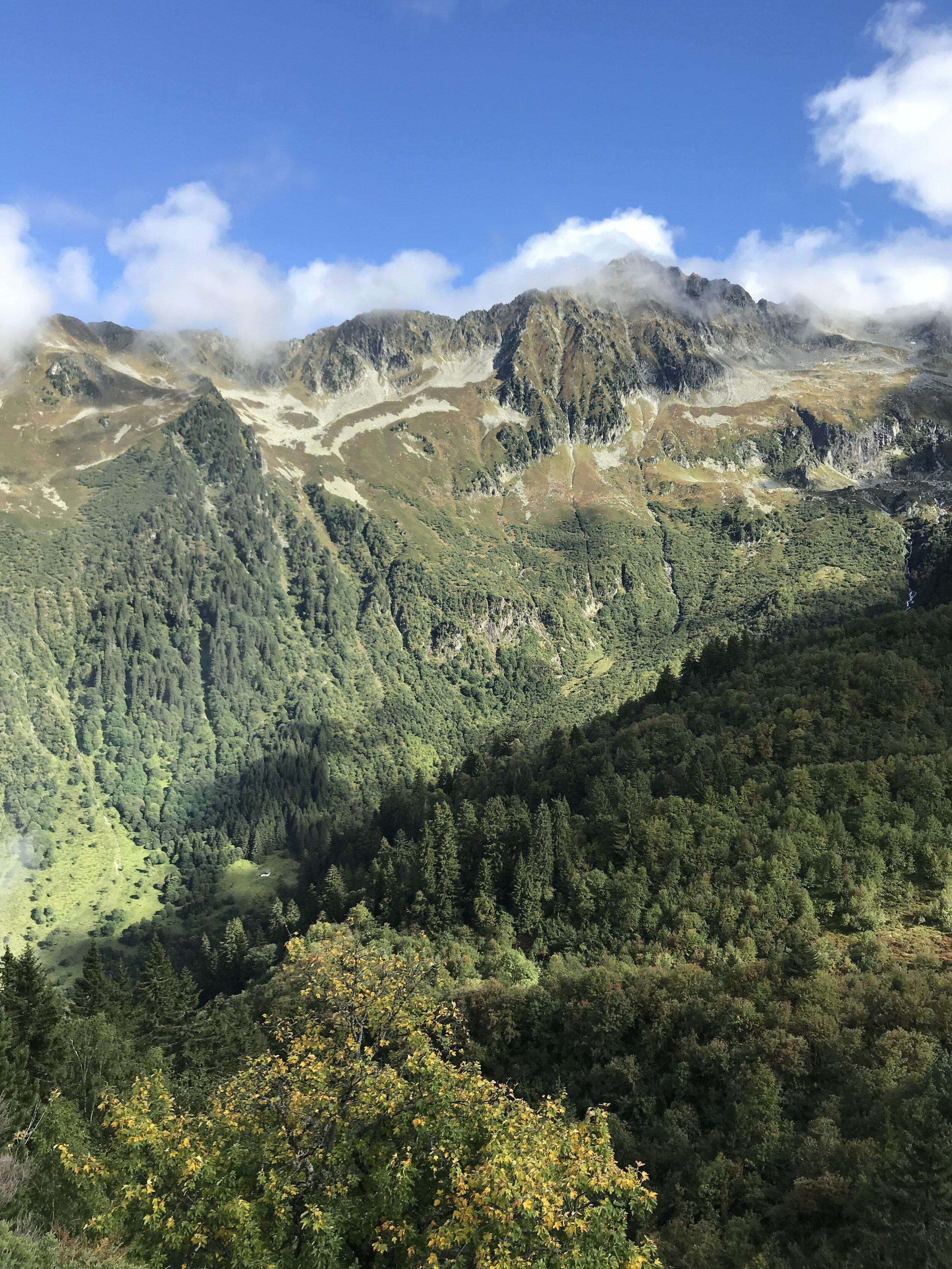Jour 3 :Refuge de la Perrière - Refuge du Claran - - 10 km- 1100m D+- 1300 D-