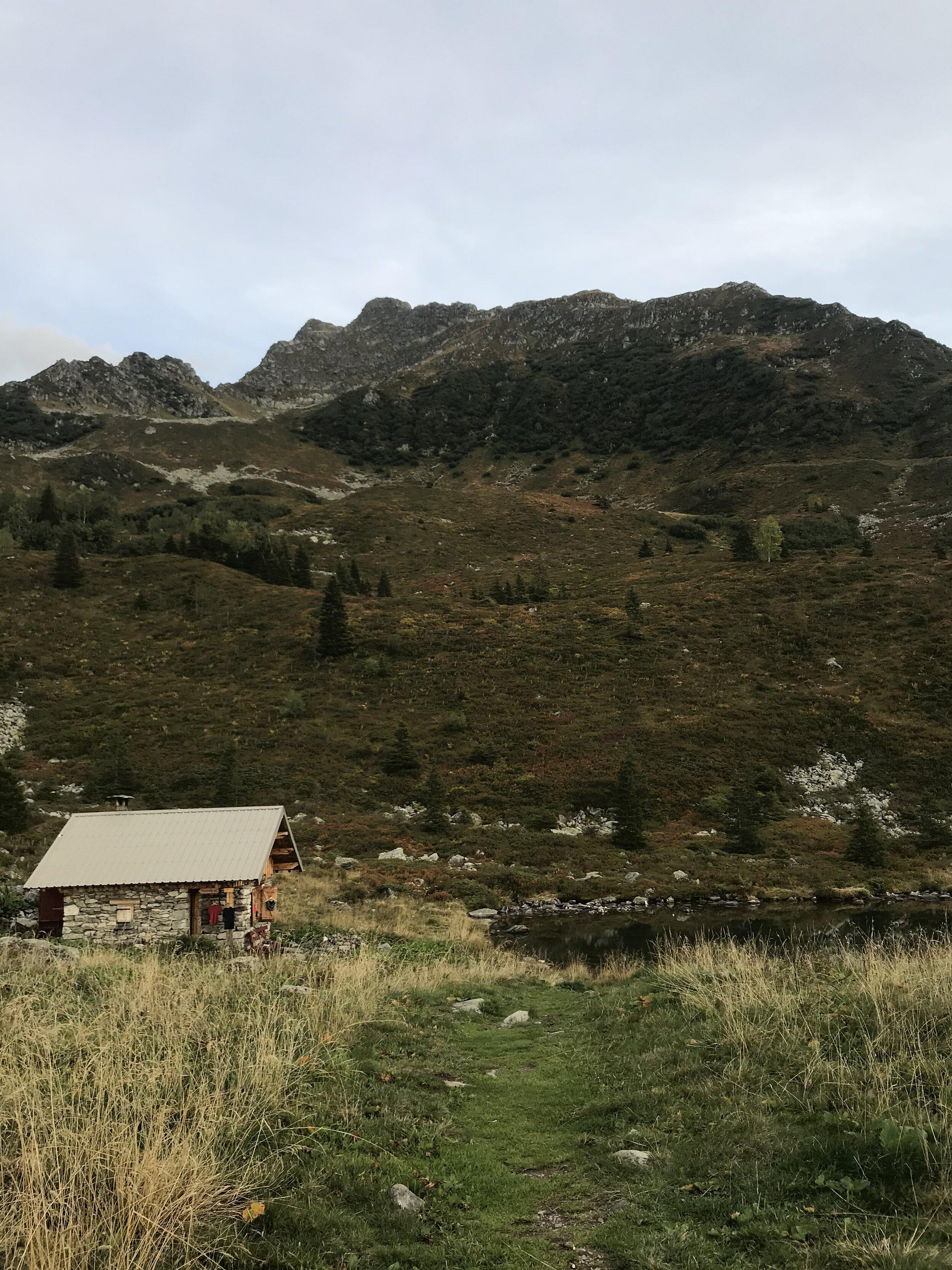 Jour 4 : Refuge du Claran - Chalet du Léat - - 20,5 km- 1900m D+- 2000 D-
